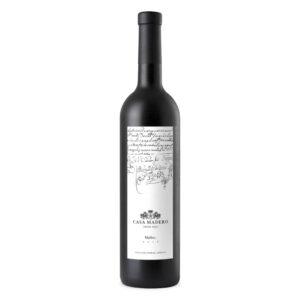 VINO TINTO CASA MADERO MALBEC 750 ml.