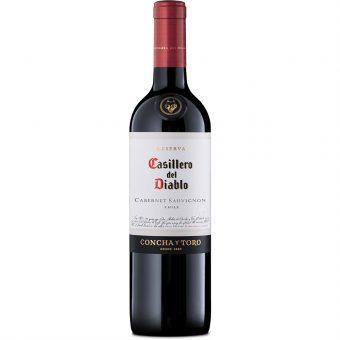 Vino Tinto Casillero Del Diablo Cabernet Sauvignon 750 ml.