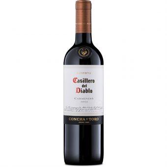 Vino Tinto Casillero Del Diablo Carmenere 750 ml.