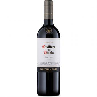 Vino Tinto Casillero Del Diablo Malbec 750 ml.