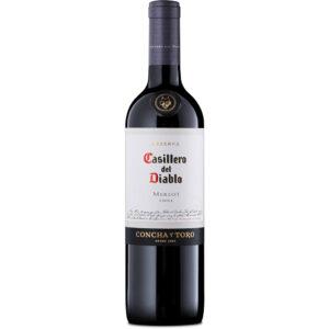 Vino Tinto Casillero Del Diablo Merlot 750 ml.