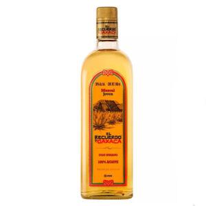 MEZCAL RECUERDO DE OAXACA CON GUSANO 750 ml.