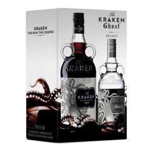 RON KRAKEN BLACK 750 ml. + KRAKEN GHOST 375 ml.