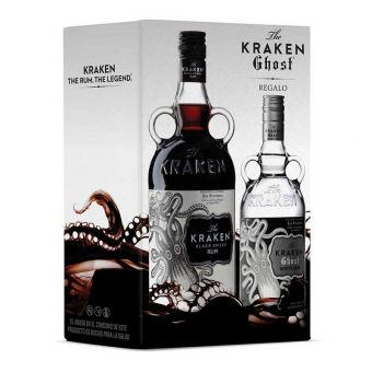 RON KRAKEN BLACK 750 ml. + KRAKEN GHOST 375 ml.
