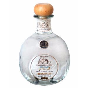 TEQUILA DON NACHO BLANCO EXTRA PREMIUM 750 ml.