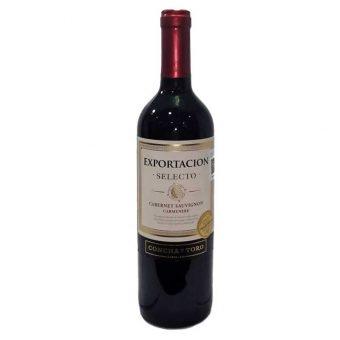 VINO TINTO CONCHA Y TORO SELECTO CABERNET SAUVIGNON 750 ml