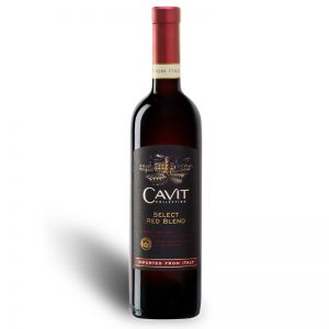 VINO TINTO CAVIT SELECT RED BLEND 750 ml.