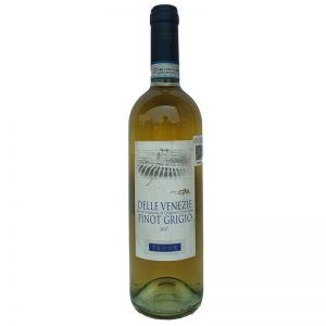 VINO BLANCO PINOT GRIGIO VENETO TERRE 750 ml.