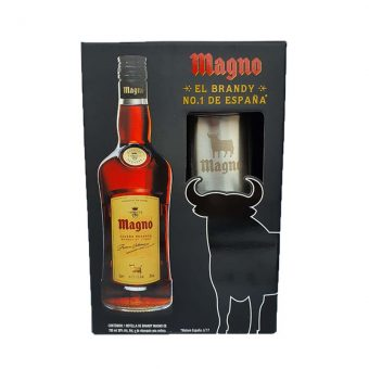 BRANDY MAGNO RESERVA 700 ml. + ANFORA