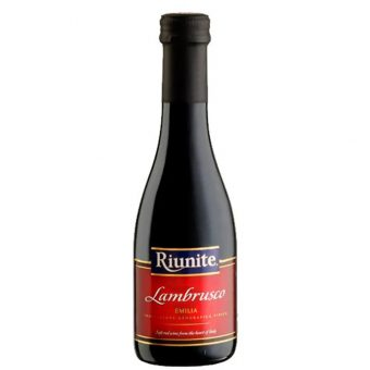 VINO TINTO LAMBRUSCO RIUNITE 187 ml.