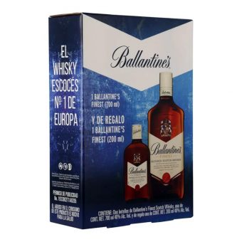 WHISKY BALLANTINES FINEST 700 ml. + 200 ml.