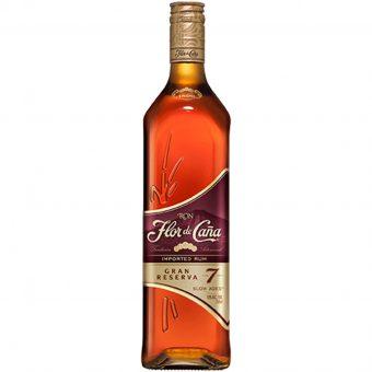 Ron Flor De Caña 7 Años Gran Reserva 750 ml.
