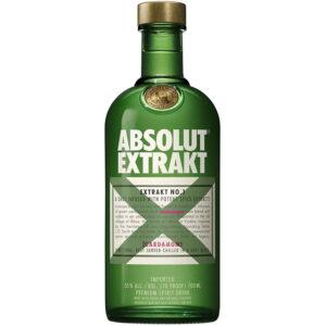 VODKA ABSOLUT EXTRAKT 700 ml.