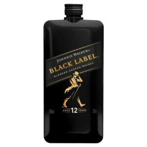 WHISKY JOHNNIE WALKER BLACK LABEL POCKET 200 ml.