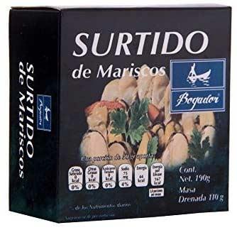 SURTIDO DE MARISCOS BOGADOR 190 gr.