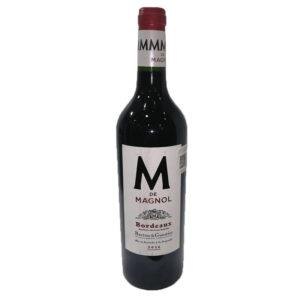VINO TINTO B&G M DE MAGNOL BORDEAUX ROUGE 750 ml.