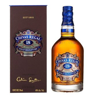 WHISKY CHIVAS REGAL 18 AÑOS 750 ml.