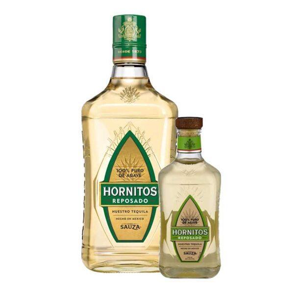 TEQUILA SAUZA HORNITOS REPOSADO 700 ml. + 200 ml.