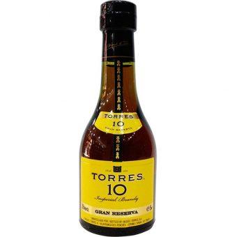 BRANDY TORRES 10 50 ml.