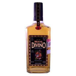 MEZCAL DIVINO REPOSADO SINGLE BARREL 750 ml.