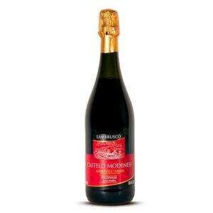 Vino Tinto Castelli Modenesi Lambrusco 750 ml.