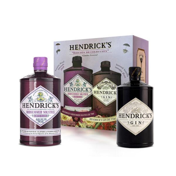 Ginebra Hendricks Midsummer Solstice 750 ml. + Hendricks 375 ml.
