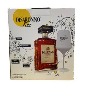 Licor Amaretto Disaronno 700 ml. + Copa