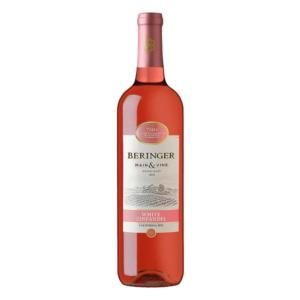Vino Rosado Beringer White Zinfandel 750 ml.