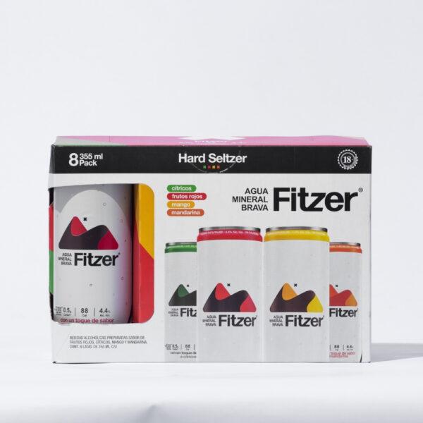 Fitzer Hard Seltzer Mixto 8 Pack