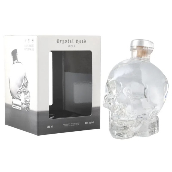 Vodka Crystal Head 750 ml.